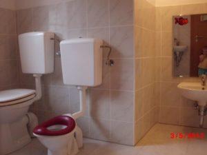 Toiletten und Waschbecken Susann
