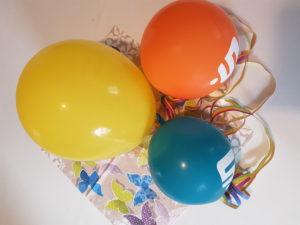 Luftballons- Fasching - Kindertagespflege