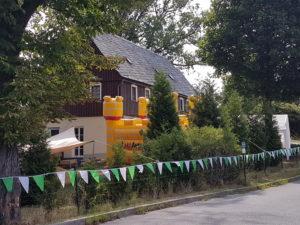 Kiintertagespflege Sommerfest, Hüpfburg